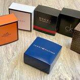 Коробочки подарочные для ремней с логотипом, картонные