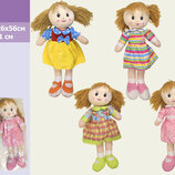Кукла мягкая CEL-117 5 видов, высота куклы 51см,