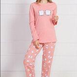 Тёплые пижамы Vienetta Secret р. M, L, XL байка