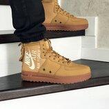 Кроссовки мужские Nike Air Force 1 mustard 8450