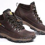 Кожаные зимние ботинки Merrell M 102 - 4 коричневые