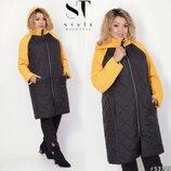 Новиночки Классное пальто- зима, размеры 48- 64