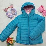 Куртка утеплённая с капюшоном демисезонная PLAZAITALIA. 5-6 лет.