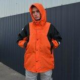 Куртка Supreme x The North Face light orange