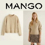 Красивый свитер Mango S, можно и на M