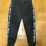 Утепленные спортивные брюки для мальчиков р.98-122