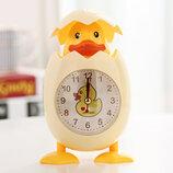 Детские настольные часы-будильник Утенок