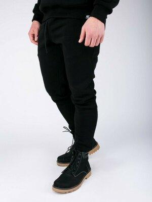 Спортивные штаны Утепленные PUNCH - Jog, Black черные