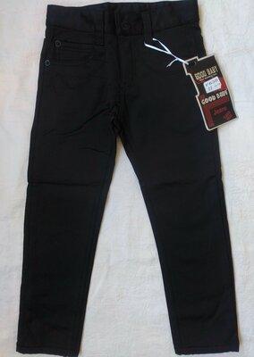 Теплые Джинсы, брюки на флисе на мальчика 6,7,8,9,10,11 лет 116-146 рост
