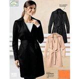 Стильное пальто-тренч Esmara Германия черное