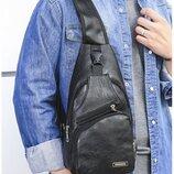 Стильный мужской рюкзак-барсетка на плечо В Наличии