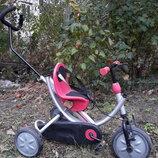 Велосипед ItalTrike OKO Plus Италия с родительской ручкой