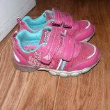 Кроссовки светящиеся на девочку 18см 30 размер