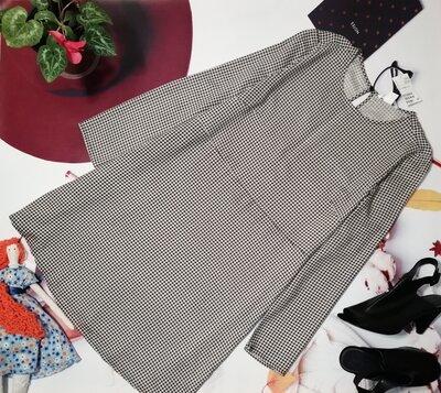 Брендовое платье H&M, 100% вискоза-штапель, размер 8/38, новое с этикеткой