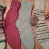 Носки вязаные собачья шерсть