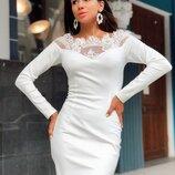 Красивое платье «Жаклин» две расцветки
