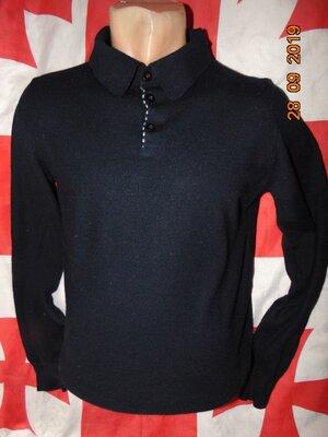 Стильная фирменная шерстяная кофта свитр бренд .Willian Hunt. xs-s