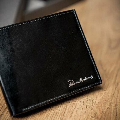 Мужское кожаное портмоне Pierre Andreus N992-VT черный