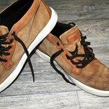 Продам мужские ботинки хайтопы Timberland светло-коричневые оригинал