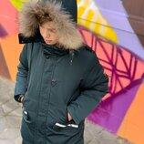 Зимняя парка,курточка для мальчика подростка