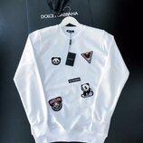 Стильный мужской свитшотDolce & Gabbana S M L XL XXL