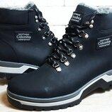 Кожаные ботинки Columbia model-220 Black