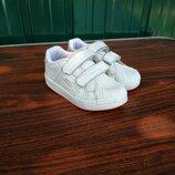 Кожаные кроссовки slazenger,размер 20.5...