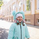 Куртки для девочек зимние 86 - 110