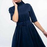 Женственное платье миди два цвета
