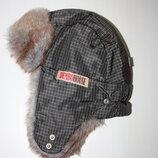 зимняя шапка ушанка DemboHouse
