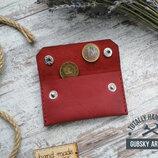 Кошелек монетница карт холдер Everyday натуральная кожа
