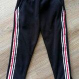 Трикотажные стрейчевые штаны на меху ЛАМПАС