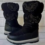 Красивые зимние сапожки для девочки, Tom. m, код 763