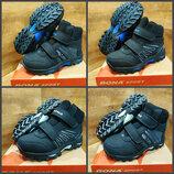 Ботинки сапоги детские зимние кожаные bona на меху р. 31-36