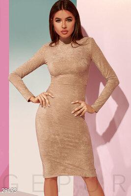 Деловое платье-миди XS-L.