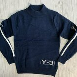 Тёплый свитер для мальчика подростка Many&Many р. 128-164см