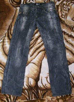 Мужские джинсы на флисе, размер 46-48 W30/L30