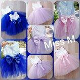 Нарядные пышные платья на девочек