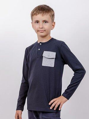 Реглан для мальчика карман рост 116-140