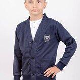 Кардиган для мальчика рост 116-140