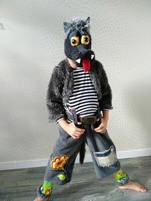 прокат карнавальный костюм вовка волка вовка вовченя новогодние,на утренник Киев для мальчика