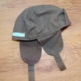 шапка, ушанка, хаки, 45
