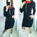 Тренд осени - платье Есть Батал - 325 рн