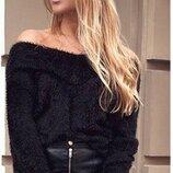 Крутой свитер лонгслив туника, травка over size