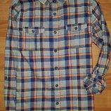 Тёплая рубашка F&F на 9-10 лет