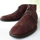 Ботинки Fin's Англия ,оригинал,замша