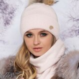Комплект 11 расцветок шапка и шарф хомут