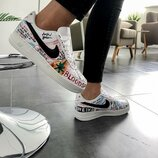 Кроссовки женские Nike Air Force Just Do It Pack