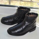 Кожаные зимние ботинки на цигейке Rieker 41р.