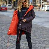 Двухсторонняя куртка, выбирай свой цвет